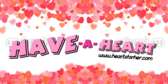 Heart Label Banner