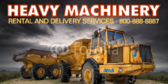 Heavy Machinery Banner