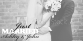 Just Married (Greyscale)