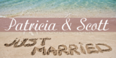 Just Married (Beach)