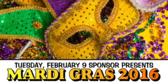 Mardi Gras 2018 Banner