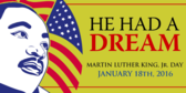 MLK Day Banner