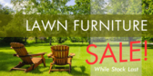 Lawn And Garden Furniture Sale