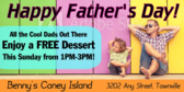 Father's Day Cool Dad Discount Banner