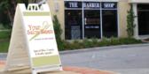 sandwich board service business panels