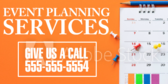 Event Planning Service Ad