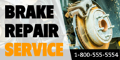Brake Service Business Ad