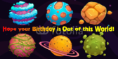 Alien Invasion Birthday