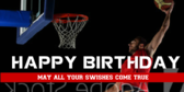 Basketball Star Birthday