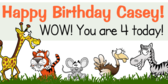 Zoo Animal Birthday