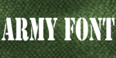 Military Text Banner