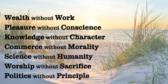 Dangers to human virtue