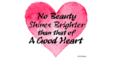 Beauty Shines Saying