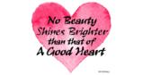 Beauty Shines Saying