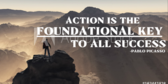 Action Success Key Saying