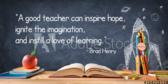 Good Teacher Saying