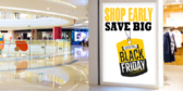 Black Friday Shop Decal