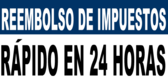 24 Hrs Rapid Tax Refund Banner Spanish