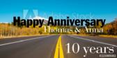 Happy Anniversary! 10 Years