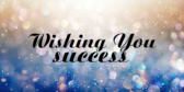 Wishing You Success Your Message Here
