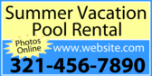 Vacation Rental Blue