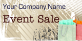 Company Sale Event