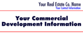 Commercial Development Information