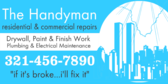 Residential and Commercial Repairs Handyman
