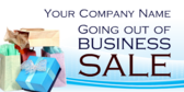 going out of business sale yard sign template