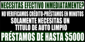 Need Cash Now? Spanish Banner