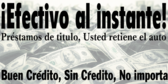 Instant Cash Loan Banner in Spanish