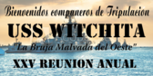 Spanish Welcome Shipmates Navy Reunion Banner