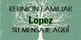 Spanish Family Reunion Banner