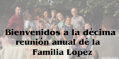Spanish Personalized Name Family Reunion Banner