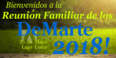 Personalized With Date Spanish Family Reunion Banner