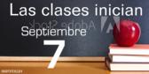 Spanish School Starts Announcement Banner