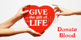 Gift of Life Donate Blood Drive Banner