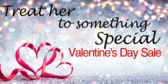 Treat Her Special Valentine's Day Ad Banner