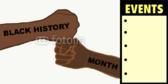 Black History Month Pride Banner