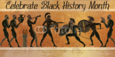 Egyptian Style Black History Celebratory Banner