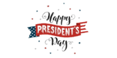 Happy Presidents Day Announcement Banner