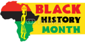 Honor Black History Month African Culture Banner