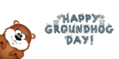 Happy Groundhog Day Party Banner