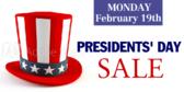 Presidents Day Custom Sale Banner