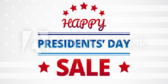 Happy Presidents Day Sale Banner