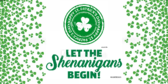 St Patricks Day Shenanigans Announcement Banner