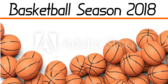 Basketball March Season Announcement Banner