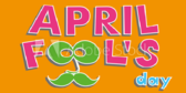 Its April Fools Day Notification Banner