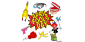 April Fools Day Fun Collage Banner