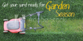 Get Your Yard Ready Lawn Care Banner